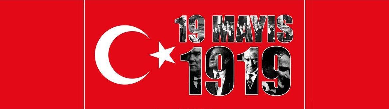 19 Mayıs Atatürk'ü Anma, Gençlik ve Spor Bayramı'nı kutluyoruz...