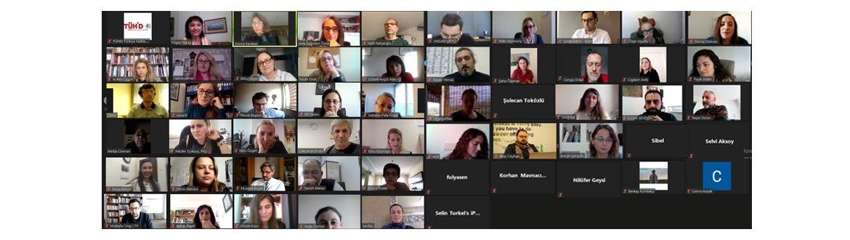TÜHİD, Tükiye genelinde 50 iletişim fakültesinden akademisyenle çevrimiçi toplantıda bir araya geldi