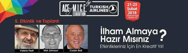 5. ACE of M.I.C.E. Exhibition by Turkish Airlines 21 Şubat'ta başlıyor