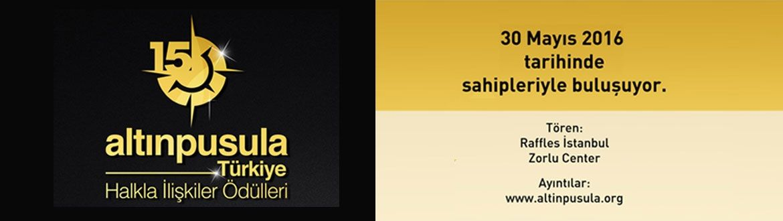 15. Altın Pusula Ödül Töreni'ni Kaçırmayın!