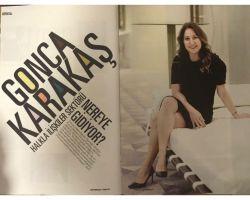 TÜHİD Başkanı Gonca Karakaş'ın Aristokrat Dergisi ile yaptığı sektör röportajı