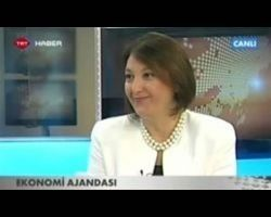 TÜHİD Başkanı Fügen Toksü TRT Haber Ekonomi Ajandası Programı'na Katıldı