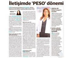 İletişimde 'PESO' dönemi