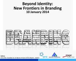 IPRA'dan Kimliklerin Ötesinde: Markalaşmada Yeni Sınırlar konferansı